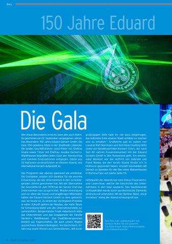 150 Jahre Eduard Gerlach GmbH - die Gala