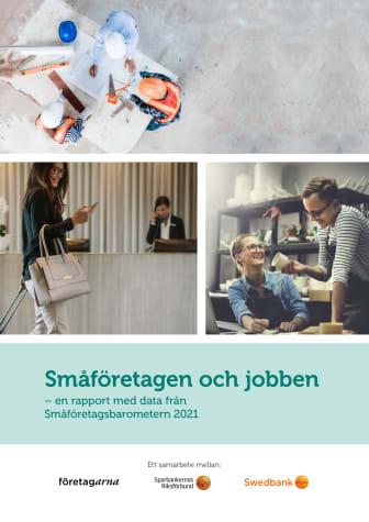 Delrapport Småföretagsbarometern 2021