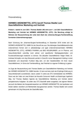 Pressemitteilung Personalie Thomas Stadler wird Geschäftsführer Marketing und Vertrieb.pdf