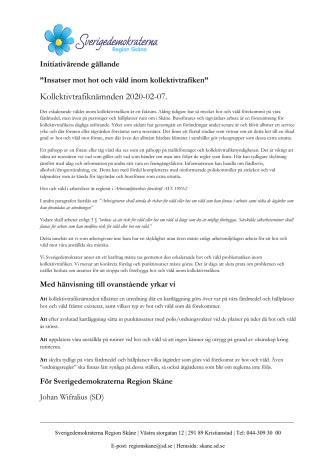 Initiativärende. Hot och våld inom kollektivtrafiken.pdf