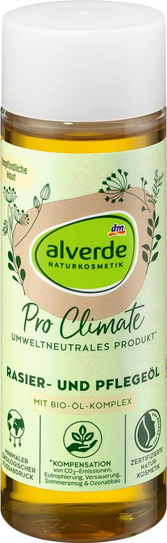 alverde Pro Climate Rasier- und Pflegeöl