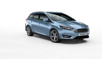 Nya Ford Focus kombi i färgen Glace Blue - bild 3