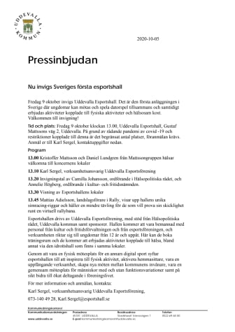 Nu invigs Sveriges första esportshall