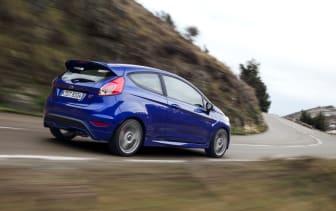 Nya Fiesta ST får 22 priser världen över under första försäljningsåret