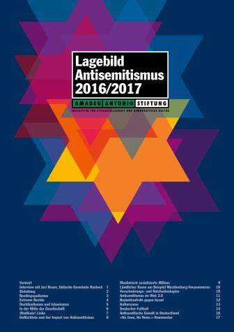 Lagebild Antisemitismus 2016/2017