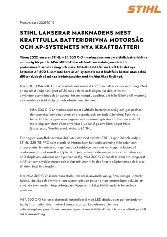STIHL Sverige_MSA 300 C-O  AP 500 S.pdf