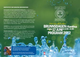 Brunnsdagen firas i Helsingborgs äldsta park den 17 juni