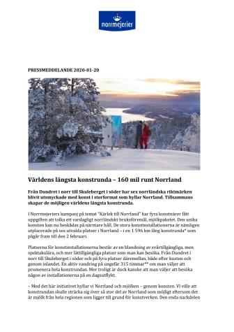 Världens längsta konstrunda – 160 mil runt Norrland