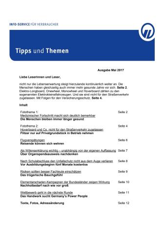 Tipps und Themen 5-2017