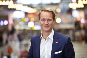 Petter Essén, affärschef på SJ.