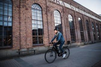Crescents smartcykel Elton med Koppla Connect