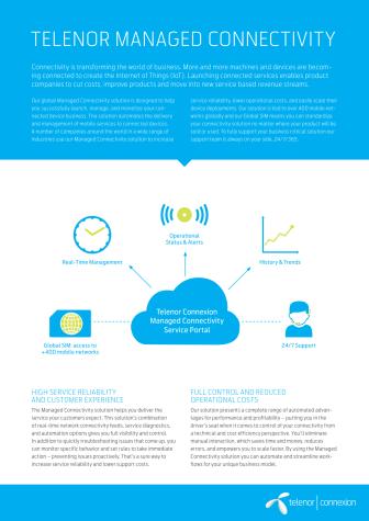 Telenor Managed Connectivity Datasheet