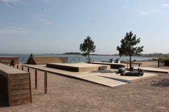 Badbryggan i Skanörs hamn