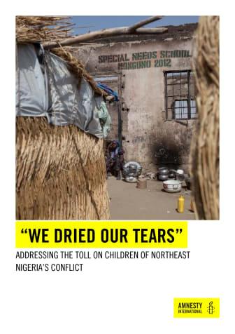 Nigeria - barnen i nordöstra delen av landet extremt utsatta