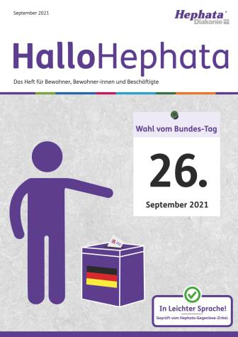 Leichte Sprache: Informationen zur Bundestagswahl
