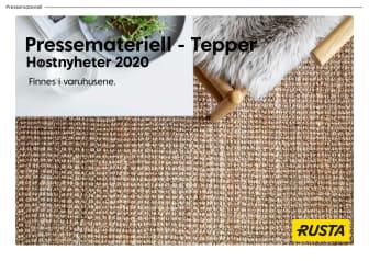 Pressemateriell Tepper - Høst 2020
