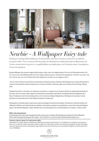 Newbie - A Wallpaper Fairy tale