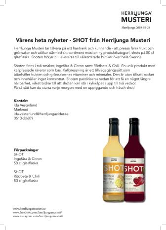 Vårens heta nyheter - SHOT från Herrljunga Musteri!
