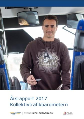 Årsrapport 2017 Kollektivtrafikbarometern