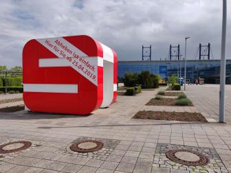 Künftiger SB-Pavillon Messe Erfurt