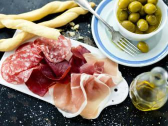 Italienskt charkfat - recept från Delizie