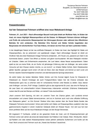 Pressemitteilung_Tourismus-Service Fehmarn_wakepark Fehmarn.pdf