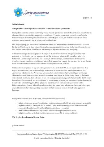 Initiativärende till KTN - Pilotprojekt ordningsvakter.pdf