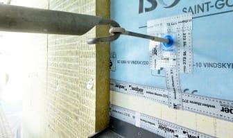 Weber P-märkta fasader - tätning