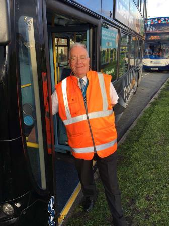 Go North East's Paddy Fagan