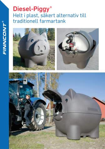 Finncont farmartank Diesel-Piggy, produktblad