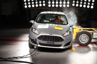 Nya Ford Fiesta får högsta betyg i EuroNCAP