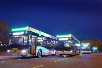 Go North East launches game-changing electric buses in Newcastle and Gateshead