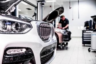 Verkstad Bilia BMW