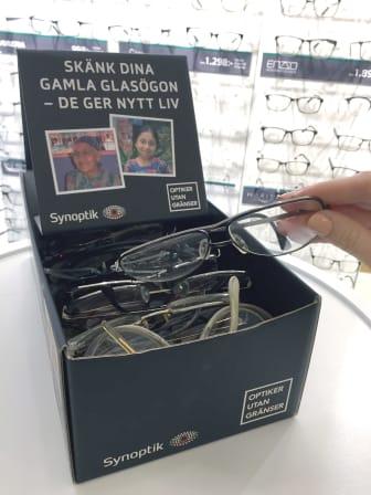 Glasögoninsamling i Örnsköldsvik