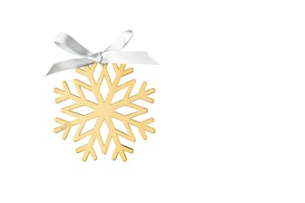 R_Silver_Collection_Christmas_Gold_Schneeflocke_8_cm