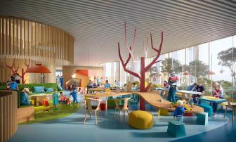 BørneRiget, Play Area