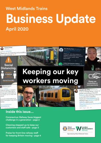 West Midlands Trains Business Update - April 2020