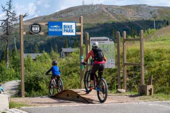 Ny sykkelpark i Fageråsen
