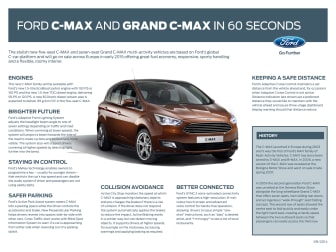 Ny Ford C-MAX og Grand C-MAX