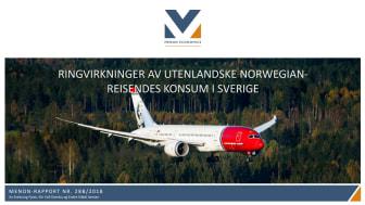 Norwegian bidrar till ekonomisk tillväxt i Sverige