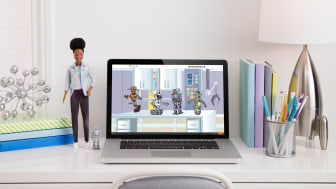 Robotik-Ingenieurin-Barbie