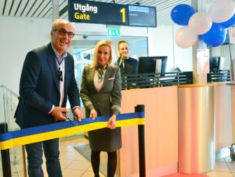 Bandklippning på Malmö Airport
