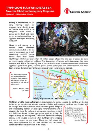 Typhoon Haiyan Disaster