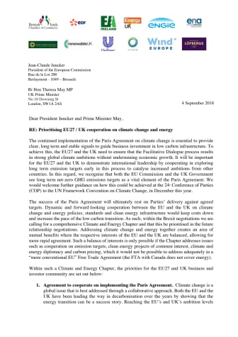 Löfbergs signs Brexit coalition letter