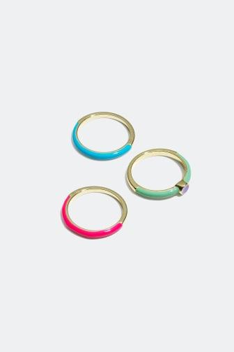 Rings set of 3 - 8.99 €