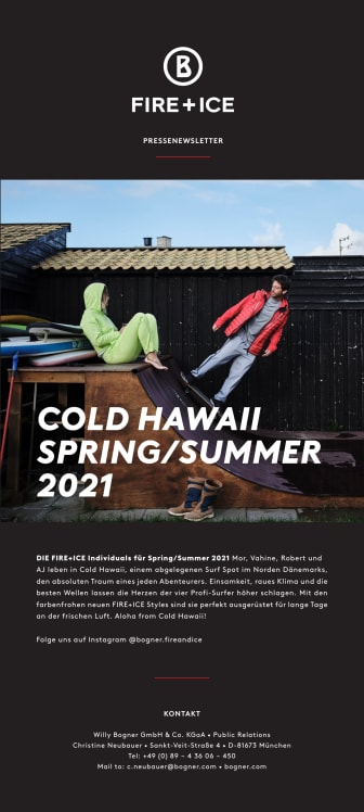 FIRE+ICE Spring/Summer 2021: Cold Hawaii
