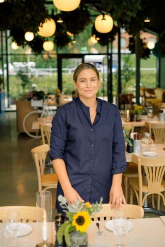 Caroline Peltonen, driftschef Boulebar Rålambshov