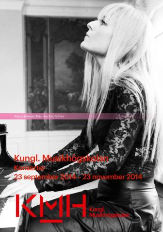 Kungl. Musikhögskolans säsongsprogram: Konserter 23/9-23/11 2014