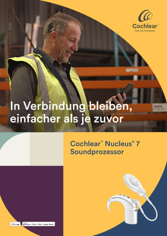 Cochlear™ Nucleus® 7 Soundprozessor (HdO-Cochlea-Implantatsystem)