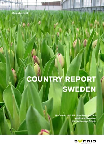 Bioenergin i Sverige - Landsrapport till IEA